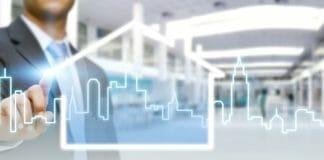 Sector inmobiliario moderno