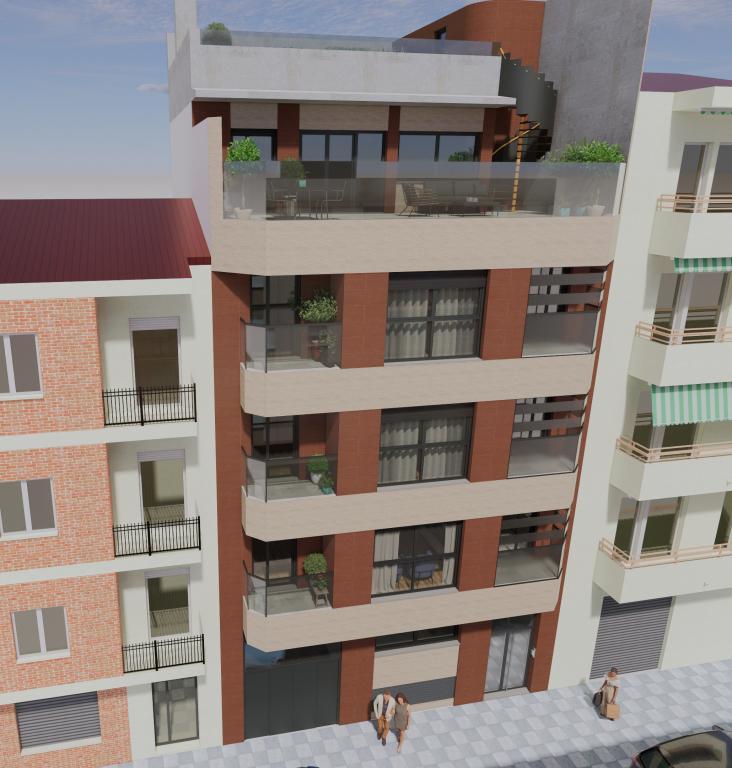 Edificio Viviendas de Obra Nueva en Venta en Albac